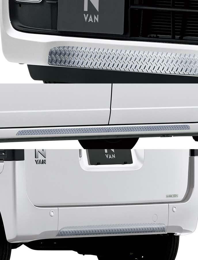 新型N-VANのメタル調・樹脂製デカール