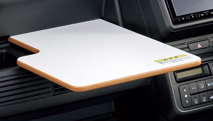 新型N-VANの簡易テーブル