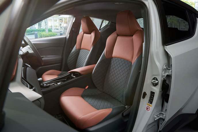C-HR特別仕様車モードブルーノのシート
