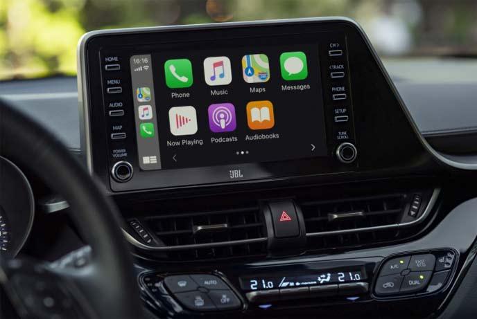 新型C-HRはスマートフォンとの連携を強化したマルチメディアシステムを導入