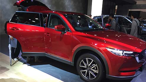 MAZDA CX-5にディーゼルハイブリッドを2021年に追加 燃費は2割向上しクラストップに