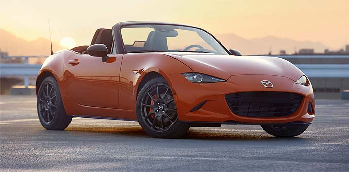 MX-5の特別仕様車「MAZDA MX-5 Miata 30th Anniversary Edition」のエクステリア