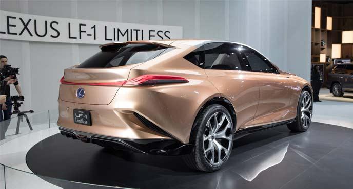 デトロイトモーターショー2018で発表されたコンセプトカー「Lexus LF-1 Limitless」