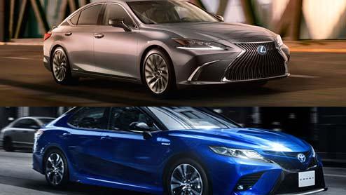 レクサスESとカムリはどこが違う?外見や内装・車体剛性のカッチリ感はハッキリと分かる