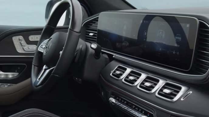 メルセデス・ベンツ新型GLEのインフォテインメントシステム