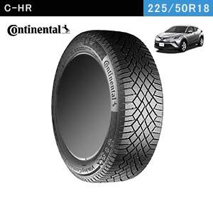 C-HRにおすすめのContinental VikingContact 7 225/50R18 99T XLのスタッドレスタイヤ