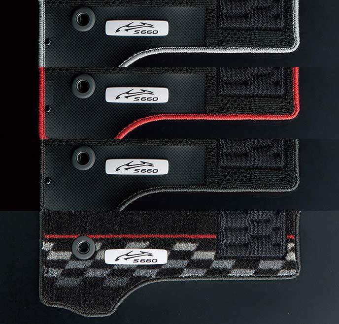 S660のフロアカーペット