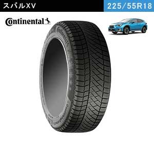 スバルXVにおすすめのContinental ContiVikingContact 6 SUV 225/55R18 102Tのスタッドレスタイヤ