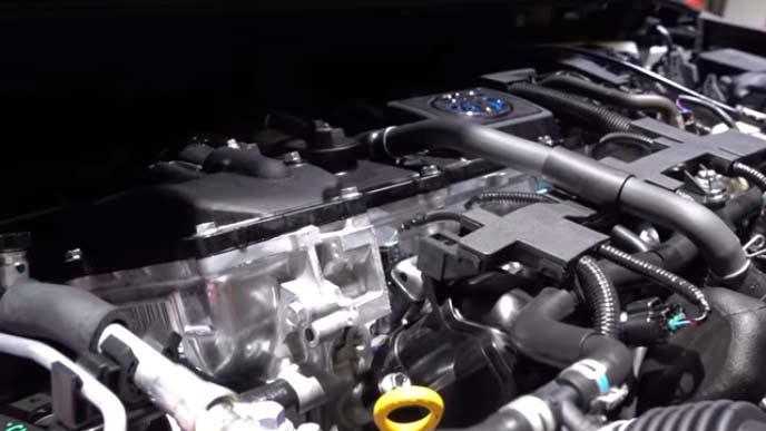 カローラツーリングスポーツのエンジン