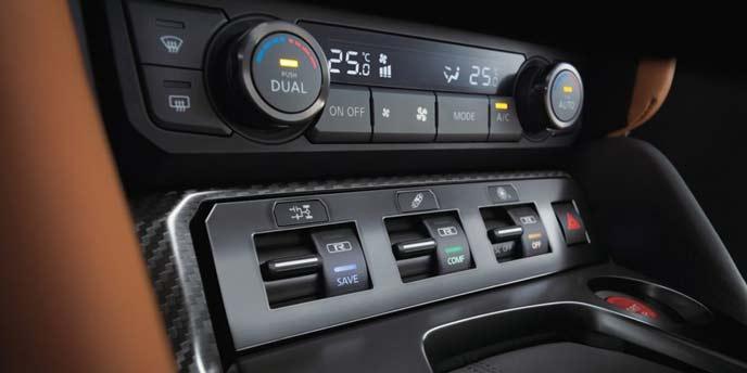 GT-Rのオートエアコン
