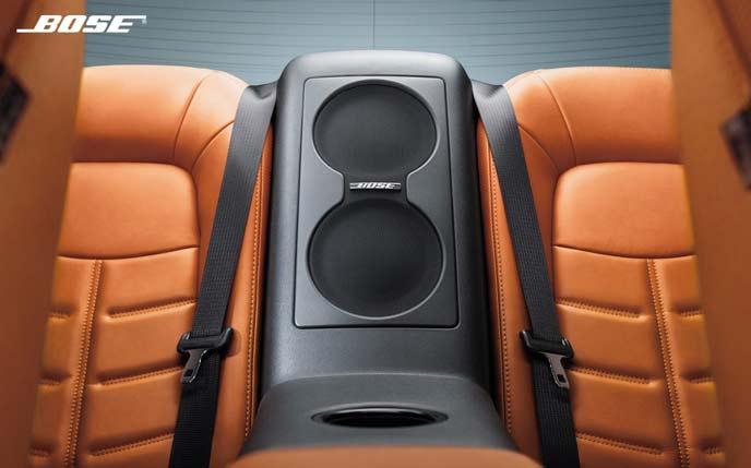 GT-RのBOSE製サウンドシステム