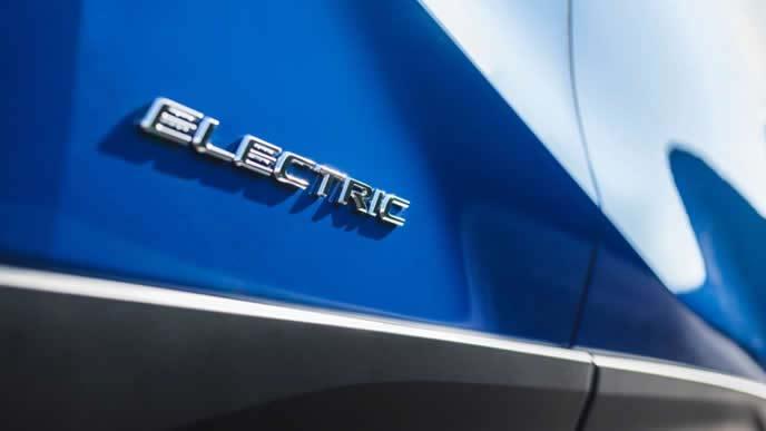 LEXUS初の市販EV車のエクステリアの一部