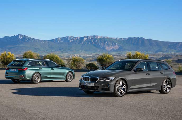 BMWの新型3シリーズ ツーリングのエクステリア