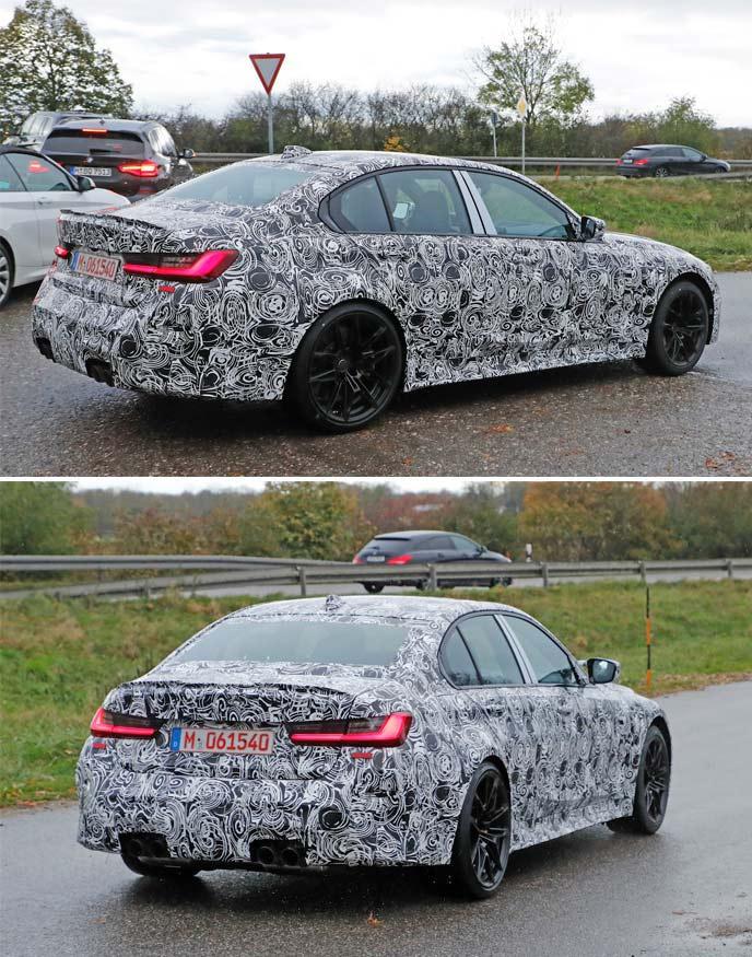 新型BMW M3のプロトタイプ