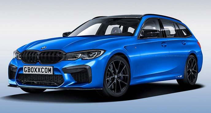 BMW3シリーズ新型「M3セダン」と「M3シリーズツーリング」