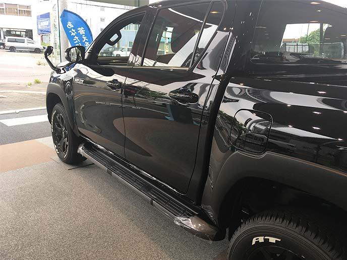 ハイラックスの特別仕様車「Black Rally Edition(ブラックラリーエディション)」