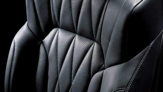 レクサスLX特別仕様車のシート