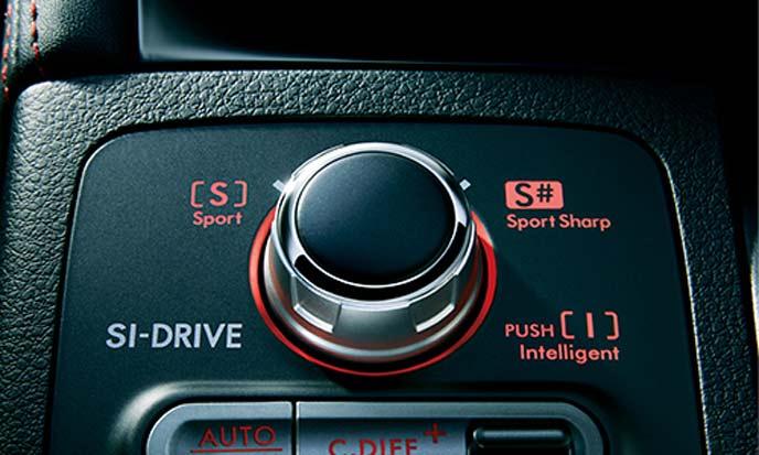 WRX STIのドライブアシストシステム
