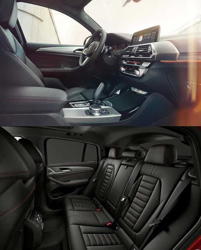 BMW X4のベースグレード「スタンダード」の内装