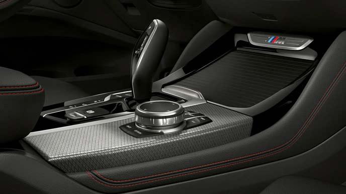 BMW X4のセンターコンソール