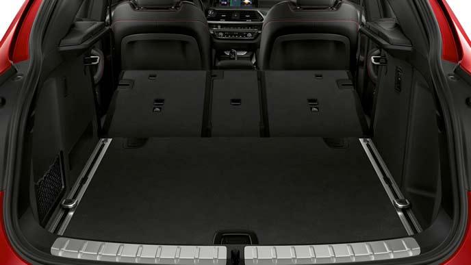 BMW X4のラゲッジルーム