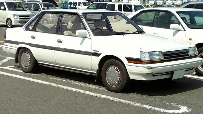 トヨタ コロナT150型 後期型のエクステリア