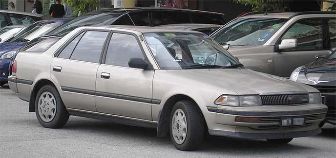 トヨタ コロナ T170型 後期型のエクステリア