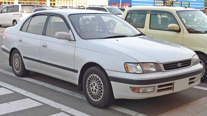 トヨタ コロナ T190型 後期型のエクステリア