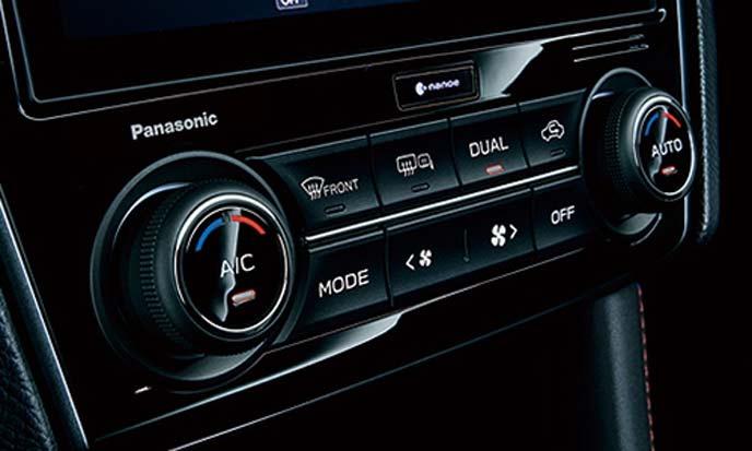 WRX S4のフルオートエアコン