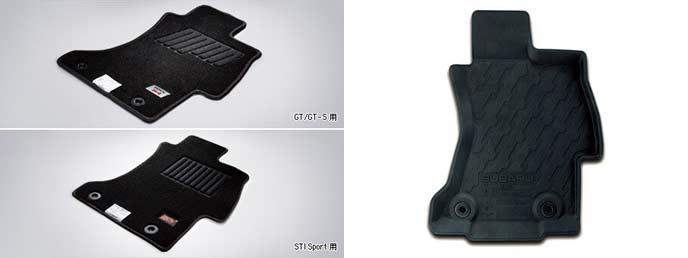 WRX S4のフロアカーペット