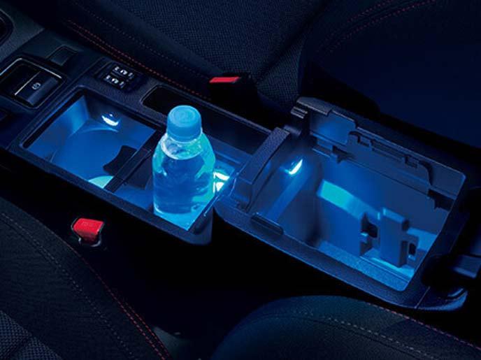 WRX S4のブルーイルミネーション