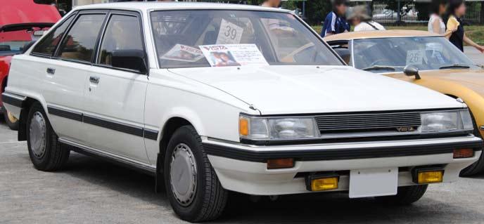 ビスタ V10型のエクステリア