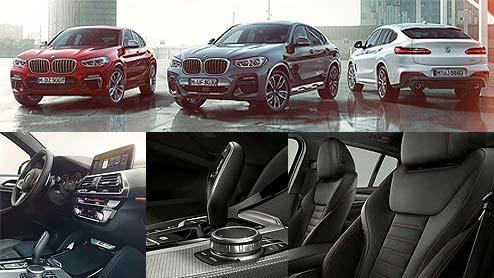 BMW X4の内装はクーペらしい魅力を際立たせた知性を感じさせるデザイン