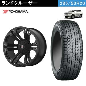YOKOHAMA iceGUARD SUV G075 + KMC XD778 MONSTER