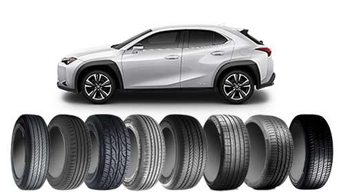 レクサスUXのタイヤ~SUV用エコ/オンロード/スポーツ12選