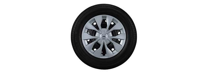15インチフルホイールカバーandタイヤ(XV・Xの2モデル)