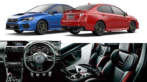 WRX STIの内装は走りを予感させるスポーティなデザインで車を操る楽しさが味わえる