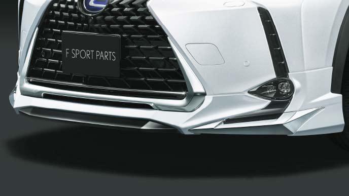 レクサス新型UXのFスポーツ専用モデリスタ フロントスポイラー