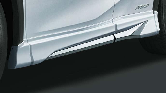 レクサス新型UXのFスポーツ専用モデリスタ サイドスカート