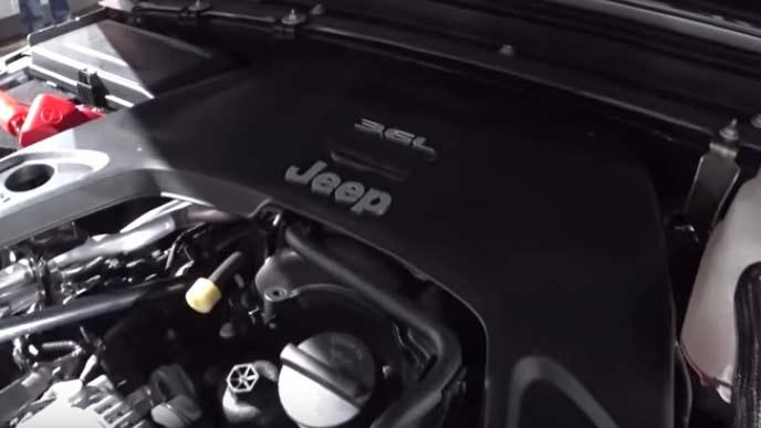 グラディエーターの3.6Lペンタスターエンジン