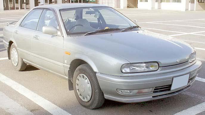 プレセア R10型のエクステリア
