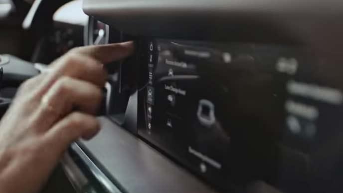 ポルシェ911のディスプレイ