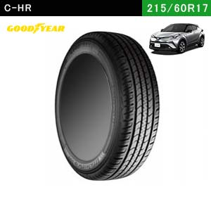 C-HRにおすすめのGOOD YEAR EfficientGrip SUV HP01 215/60R17 96Hの夏タイヤ