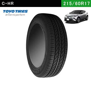 C-HRにおすすめのTOYO TIRES OPEN COUNTRY U/T 215/60R17 96Vの夏タイヤ