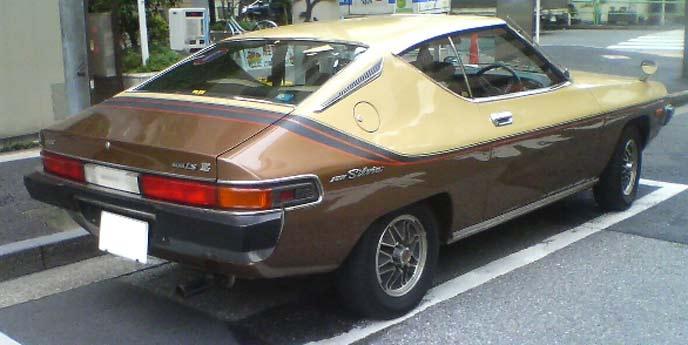 シルビア S10型のリヤビュー