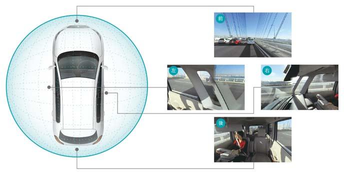 360度撮影できるおすすめのカーメイト d'Action 360S(DC5000)のドライブレコーダー
