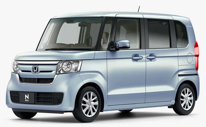 N-BOX G Honda SENSINGモデルのエクステリア