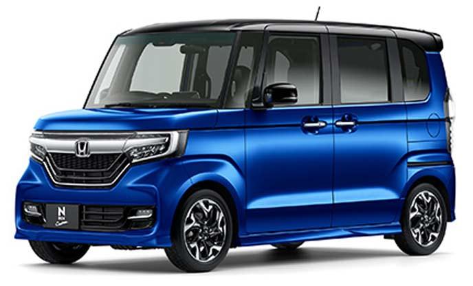 N-BOX Custom G・L ターボ Honda SENSINGモデルのエクステリア