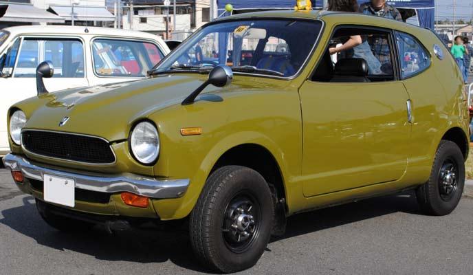初代Z(1970~1974)前期N360型のエクステリア
