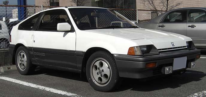 バラードスポーツCR-X(1983~1987)前期型Siのエクステリア